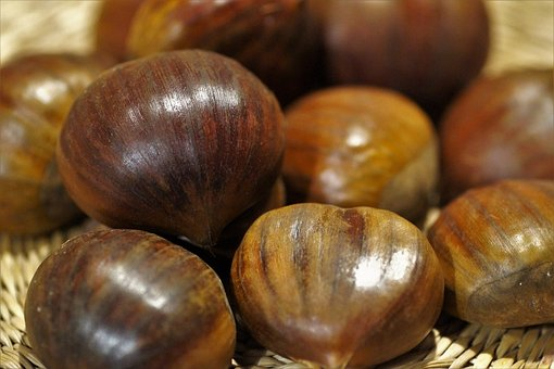 Edible Chestnuts, Peel, Shell, The Pre-christmas Time