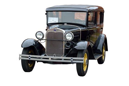 Vintage Car, Ford, Antique, Retro, Restored, Vintage
