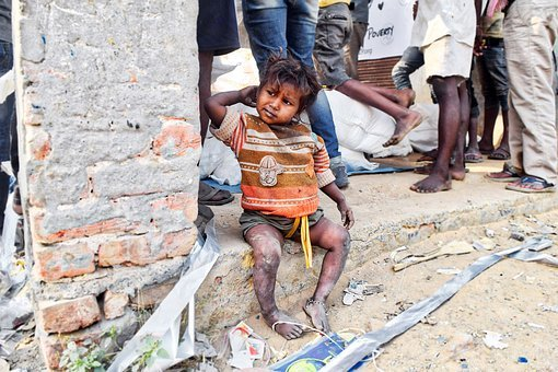 Poor, Slums, Girl, Poverty, People, Support, Help