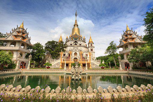 Sour, Vietnam, Buulong, City, Temple, Travel, Culture