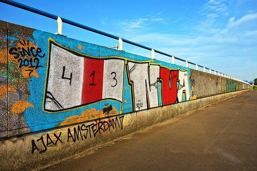 Graffiti, Text, Writing, Paint, Spray, Urban