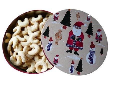 Vanillekipferl, Christmas Baking, Bredla, Cookie