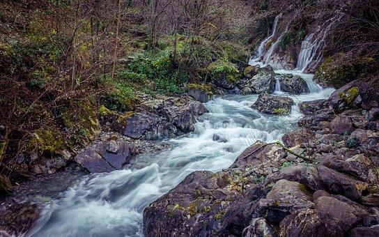 Nature, River, Mountain, Atlantic Pyrenees