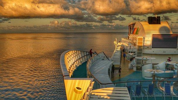 Caribbean, Ship, Driving Cruise Ship, Water, Cruise