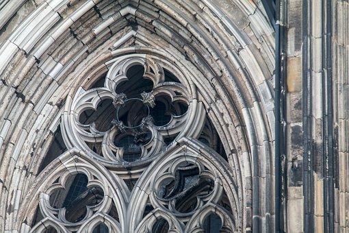 Gothic, Church Window, Dom, Window, Ornaments, Building