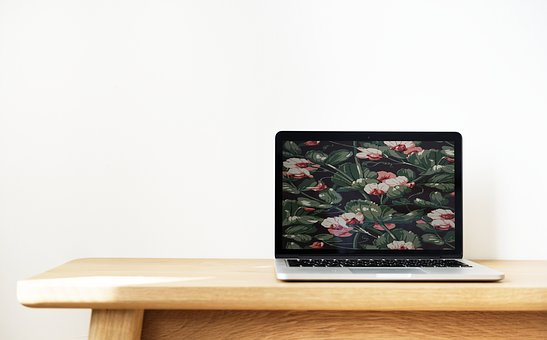 Clean, Device, Digital Device, Floral, Indoors, Laptop