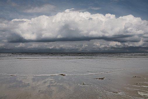 Sea, Cloud, Cloudy Sky, Landscape, Atlantic, Ocean