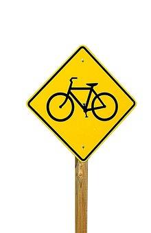 Warning, Traffic, Danger, Safety, Bike, Bicycle, Road