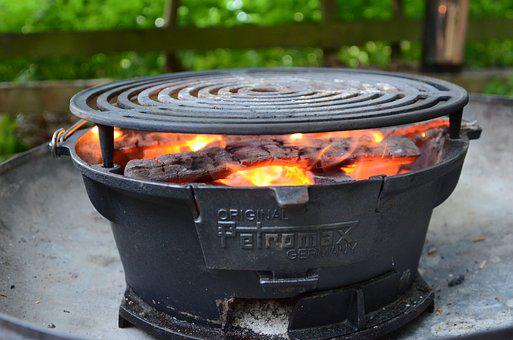 Dutchoven, Barbecue, Grill, Flame, Bbq Season, Fry