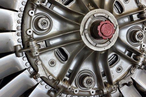 Germany, Hermeskeil, Museum, Turboshaft, Engine, Shaft