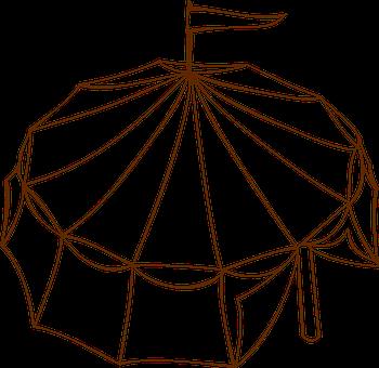 Tent, Flag, Circus, Entertainment, Carnival, Festival