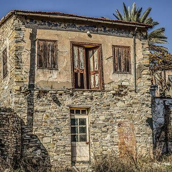 Architecture, Old, House, Building, Exterior, Facade