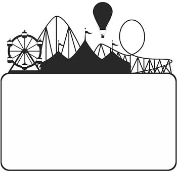 Park, Circus, Tent, Fair, Fun, Fairground, Poster, Sale