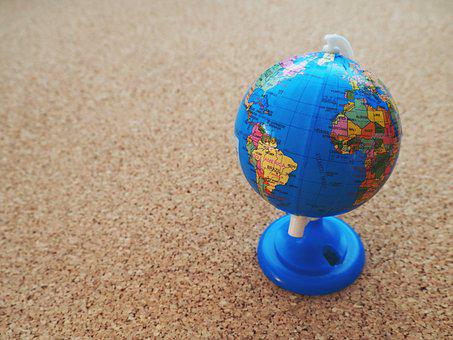 Globe, World, Earth, Continents, Background, Hemisphere