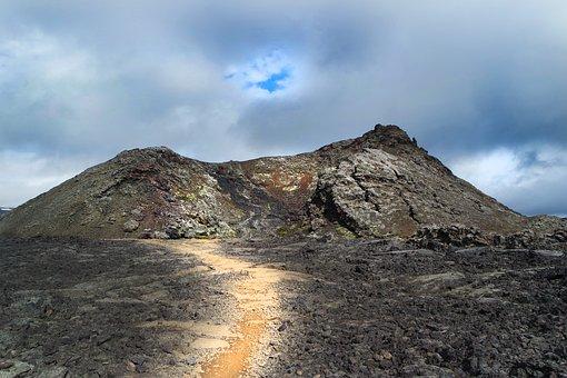 Volcano, Leirhnjukur, Lava, Iceland, Landscape, Heat