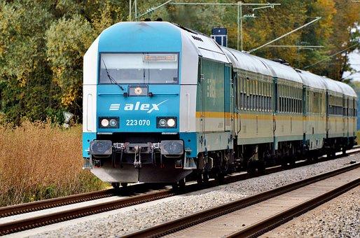 Locomotive, Loco, Railway, Train, Rails, Travel