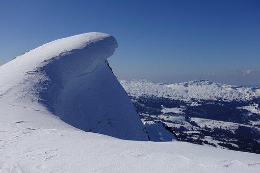Snowdrift, Woe, Snow, Winter, Mountain, Cold, Ice