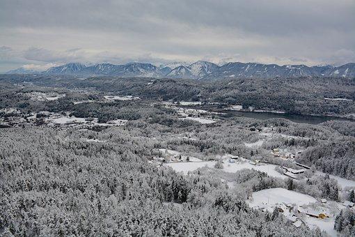 Snow, Carinthia, Austria, Nature, Winter, Mountains
