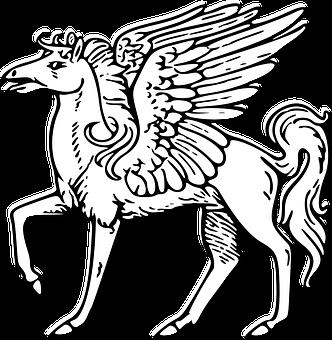 Pegasus, Mythological, Horse, Winged, Myth, Fantasy