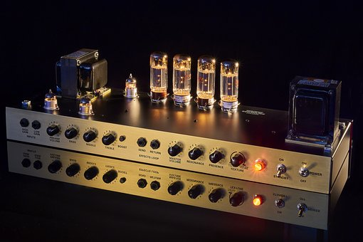 Pipe, Radio Tubes, Amplifier, Product Photography, Hot