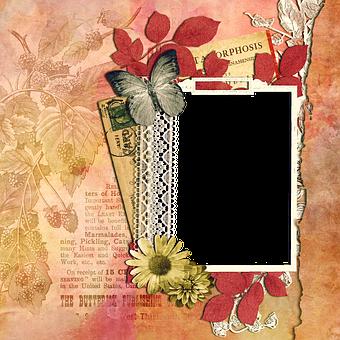 Scrapbooking, Quickpage, Paper, Texture, Romantic