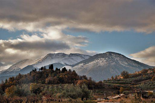 Greece, Travel, Scenery, Holidays, Road, Nature