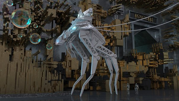 Robot, Animal, Scifi, Technology, Character, Robotic