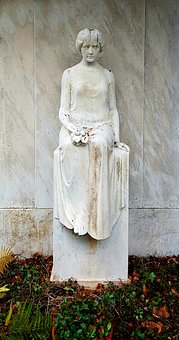 Statue, Sculpture, Cemetery, Art, Grave, Tomb