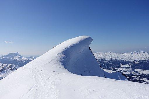 Mountains, Alpine, Hohgant, Furggengütsch, Snowdrift