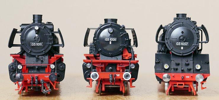 Steam Locomotive, Models, Parade, Br 03-10, Scale H0