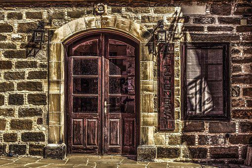 Cyprus, Psematismenos, Tavern, Architecture