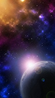 Universe, Planet, Star, Background, Space, All, Cosmos