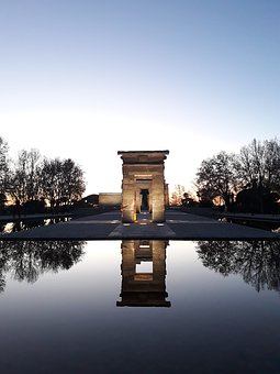 Madrid, Temple, Egypt, Outdoor, Visit, Tourist, Capital