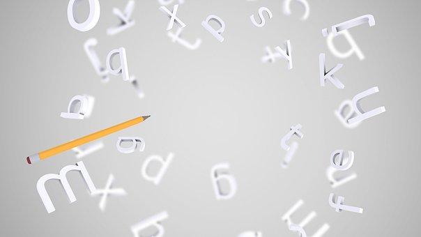 Desktop, Alphabet, Letters, 3d Letters, Text