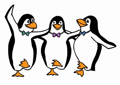 Penguins, Animals, Birds, Dance, Dancing, Greek, Happy
