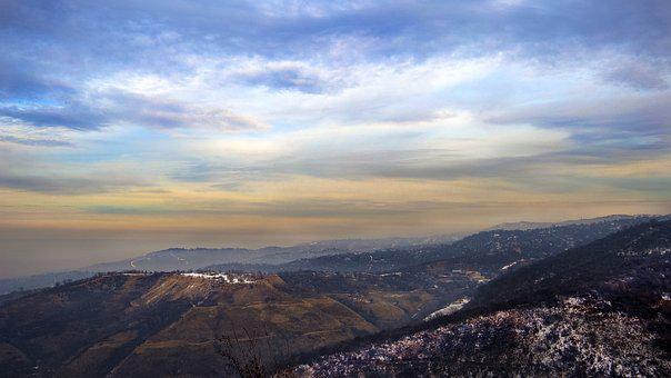 Panoramic, Nature, Sky, Landscape, Mountain, Cloud