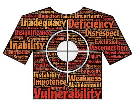 Target, Victim, Deficiency, Inadequacy, Vulnerability