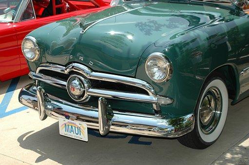 Classic Car, Ford, Nostalgia, Vehicle, Car Show