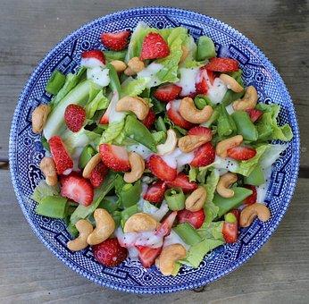 Salad, Fresh, Healthy, Green, Diet, Vegetable