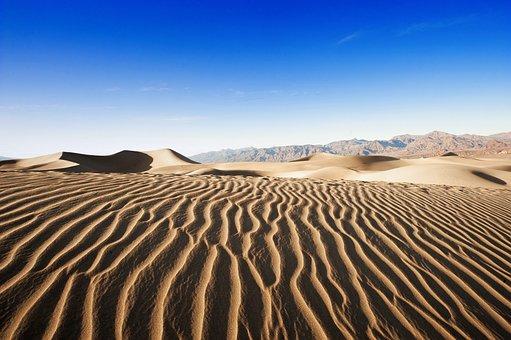 Desert, Sand, Dry, Arid, Dune, Wasteland, Heat, Travel