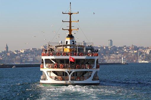 Fatih, Istanbul, Ship, Passenger Kadikoy, Haydarpasa