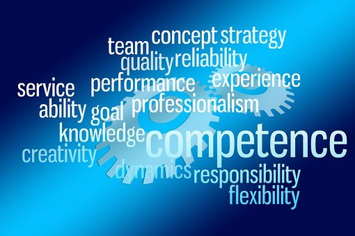 Competence, Experience, Flexibility, Knowledge