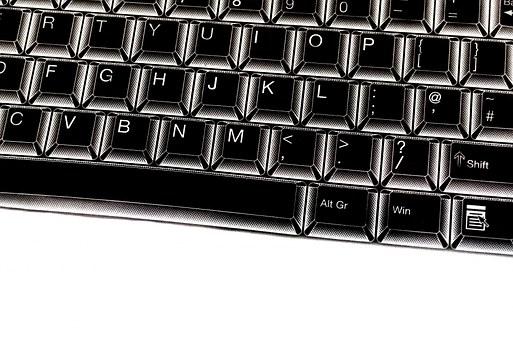 Keyboard, Key, Button, Laptop, Alphabet, Keypad, Type