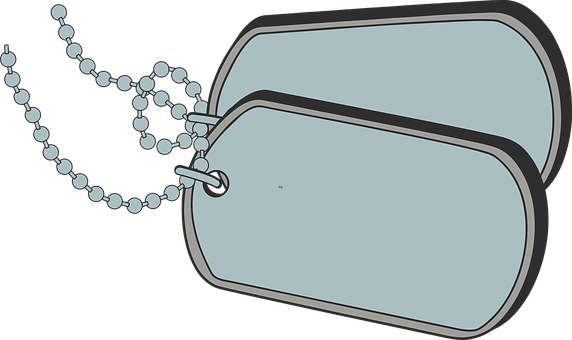 Dog Tags, Military, Identification, Army, Identity
