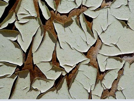 Dry, Nature, Pattern, Background, Peeling Paint, Wood