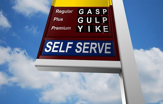Oil, Price, Gas, Station, News, Fuel, Pylon, Post