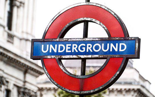 Underground, Shield, Metro, London, London Underground