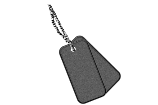 Dog Tags, Tags, Identification, Name, Military, Army