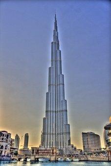 Dubai, Architecture, Skyscraper, Travel, Burj Khalifa