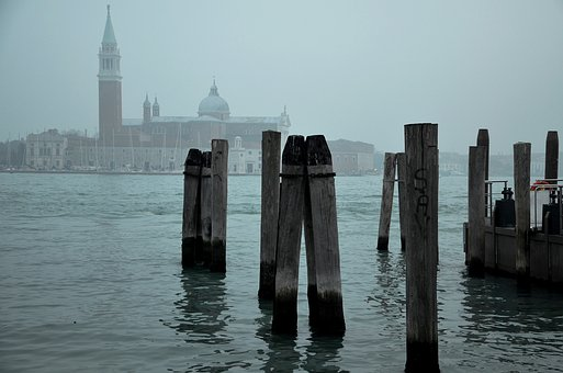 Water, Architecture, Travel, Sky, City, Venice, Italy